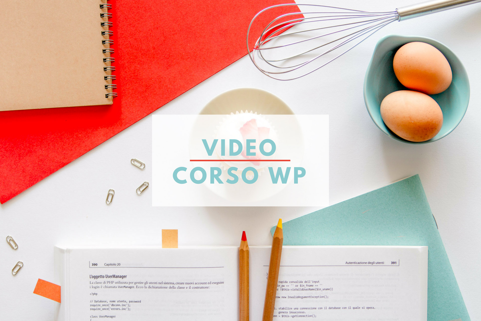 WordPress senza segreti - video corso di WordPress